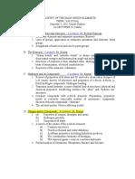 CHEM 2160 Course Outline 2012 (1)