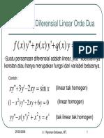Persamaan Diferensial 3