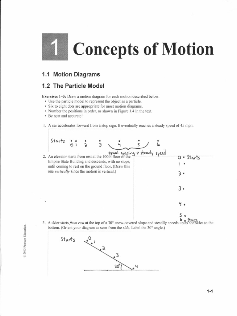 Answer key motion physics acceleration fandeluxe Image collections