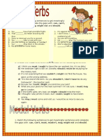 Modal Verbs Intermediate II