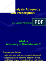 Hemodialysis Adequacy Dwi