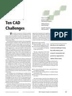 10 Cad Challenges