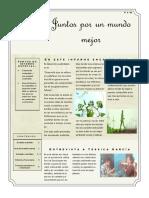 Desarrollo sustentable/ Boletin Informativo
