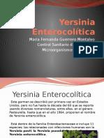 Yersinia Enterocolítica