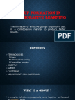 Group Formation, Data Mining