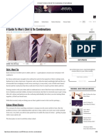 A Guide to Men's Shirt & Tie Combinations _ FashionBeans