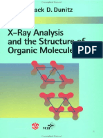 X-ray analysis and the structure of organic molecules 2nd edition