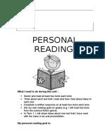 junior personal reading unit