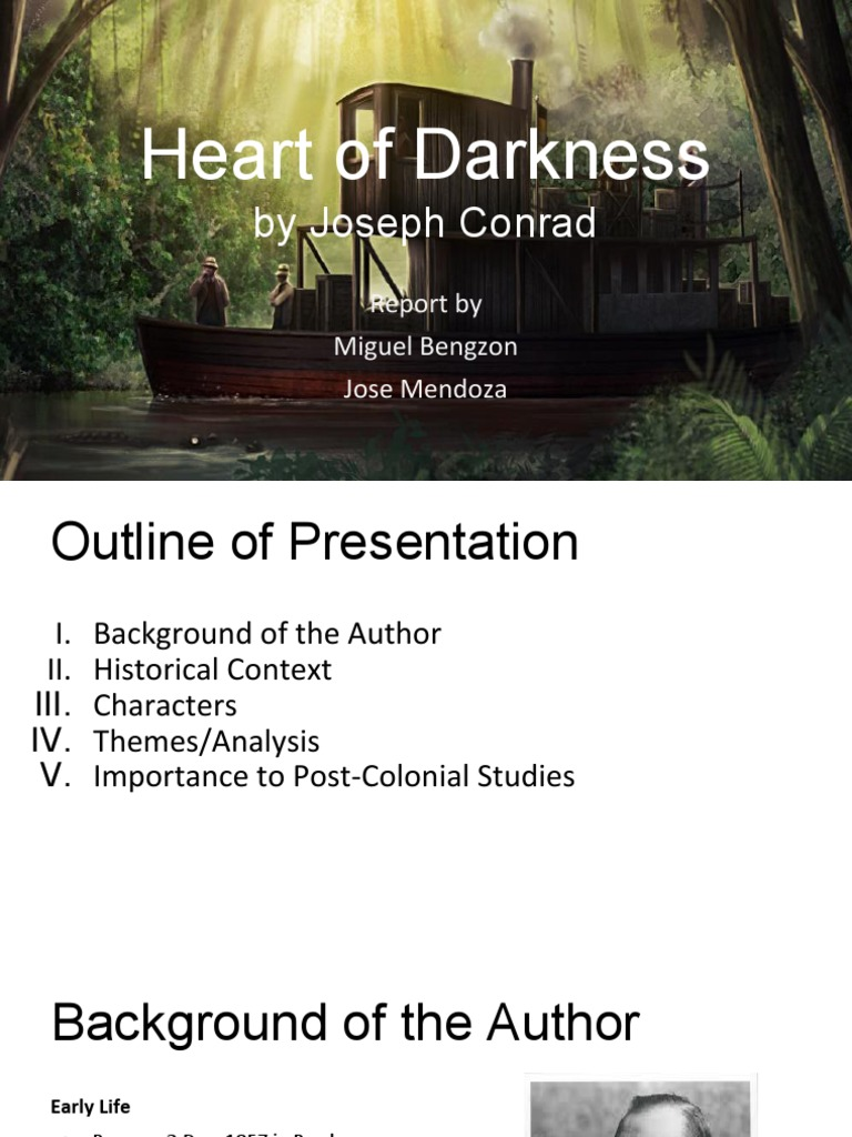 heart of darkness historical context