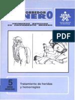 Socorredor Minero 5 - Tratamiento de Heridas y Hemorragias