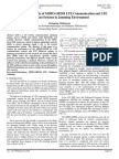 Performance Analysis of MIMO-OFDM LTE Communication and LTE Multicast Systems in Jamming Environment