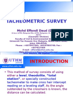 GEOMATIC  - Tacheometry Survey