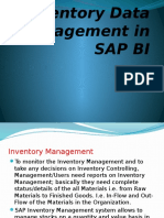 Inventory Data Management in SAP BI