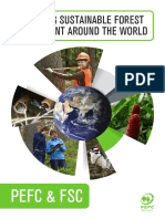 PEFC Promoting Sustainable Forest Management Around the World