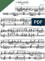 Scriabin, Five Preludes Op.74