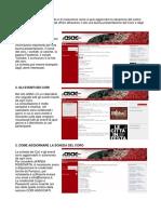 Guida Per Aggiornamento Del Sito ASAC 2014