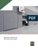 Спорт цогцолборын хаалганууд