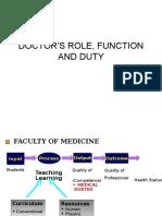 8-Doctors Role, Function