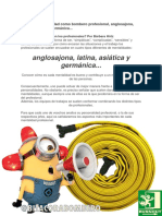 ¿Cuál es tu mentalidad como bombero profesional, anglosajona, latina, asiática ó germánica...? editado con comentarios