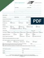 Travel Priority Form