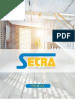 Setra Blinds Saudi's No.1 Blinds Factory Profile