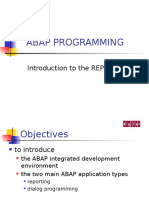 ABAP REPORTS