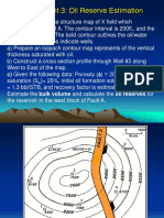 Petroleum Geoscience and Geophysics Assignment 3