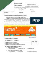 2015 Franceza Nationala Clasa a Viia Normal Proba Scrisa Subiectebarem