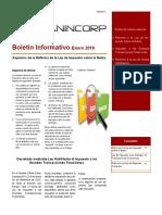 Boletin Extraordinario Enero 2016 Reforma de La LISLR