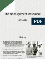 The Non Alignment Movement