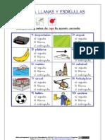 AGUDAS, LLANAS Y ESDRÚJULAS (ARASAAC)