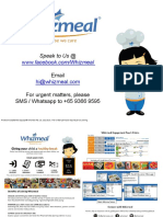 Whizmeal Introduction for Parents