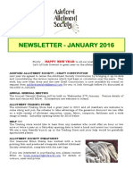 newsletter jan 2016