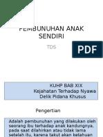 01.PEMBUNUHAN ANAK SENDIRI TDS BAHAN KULIAH Oktober 2014.ppt