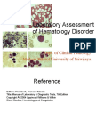 IT 8_KMY Laboratory Assessment of Hematology Disorder