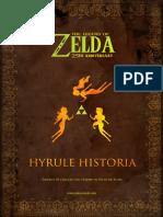 Zelda Hyrule Historia Traduction