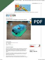 Circuitos ÚTILES. 02. Regulador Corriente Alterna 3800 W