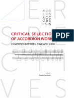 critical selection of accordion works