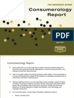 Consumerology Report - April 2010