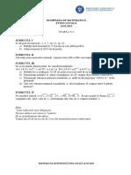 2015 Matematica Locala Bacau Clasa a v A