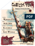Regulamin Turnieju Warheim Fs Katowice 30012016