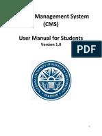 Self Enrollment Manual (CMS)