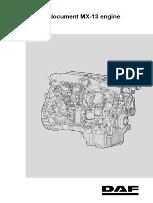 DAF Trainee Doc MX-13   Fuel Injection   Pump