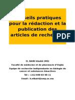 Consignes Et Conseils (Rédaction Et Publication D_articles)