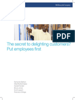 The Secret to Delighting Customers - Put Employees First