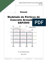 Manual Modelado de Pórticos de C.a. en SAP2000