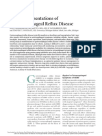 Atypical Presentations of Gerd