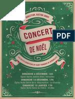 Noel Petits Chanteurs Flyer