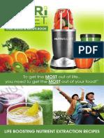 Nutribullet Manual english