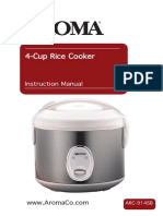 Aroma Rice Cooker ARC 914SB InstructionManual